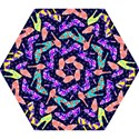 Colorful High Heels Pattern Mini Folding Umbrellas View1