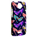 Colorful High Heels Pattern HTC One X Hardshell Case  View2