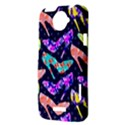 Colorful High Heels Pattern HTC One X Hardshell Case  View3