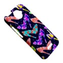 Colorful High Heels Pattern HTC One X Hardshell Case  View5