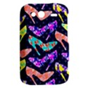 Colorful High Heels Pattern HTC Wildfire S A510e Hardshell Case View2