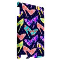 Colorful High Heels Pattern Apple iPad 2 Hardshell Case View2