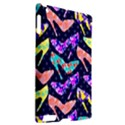 Colorful High Heels Pattern Apple iPad 2 Hardshell Case (Compatible with Smart Cover) View2