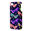 Colorful High Heels Pattern Apple iPhone 4/4S Premium Hardshell Case View3