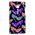 Colorful High Heels Pattern Sony Xperia ion View2