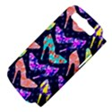 Colorful High Heels Pattern Samsung Galaxy S III Hardshell Case (PC+Silicone) View4