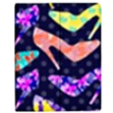 Colorful High Heels Pattern Apple iPad 2 Flip Case View1