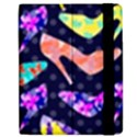 Colorful High Heels Pattern Apple iPad 2 Flip Case View2