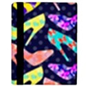 Colorful High Heels Pattern Apple iPad 2 Flip Case View3