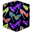 Colorful High Heels Pattern Apple iPad 3/4 Flip Case View4