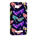 Colorful High Heels Pattern HTC One SU T528W Hardshell Case View2