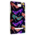 Colorful High Heels Pattern HTC 8S Hardshell Case View2