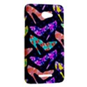 Colorful High Heels Pattern HTC Butterfly X920E Hardshell Case View2