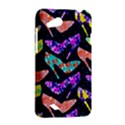 Colorful High Heels Pattern HTC Desire VC (T328D) Hardshell Case View2