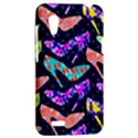 Colorful High Heels Pattern HTC Desire VT (T328T) Hardshell Case View2