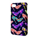 Colorful High Heels Pattern Apple iPhone 4/4S Hardshell Case with Stand View3