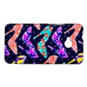 Colorful High Heels Pattern HTC One M7 Hardshell Case View1