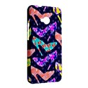 Colorful High Heels Pattern HTC One M7 Hardshell Case View2