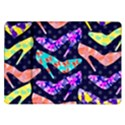 Colorful High Heels Pattern Samsung Galaxy Tab 10.1  P7500 Flip Case View1
