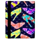 Colorful High Heels Pattern Samsung Galaxy Tab 10.1  P7500 Flip Case View2