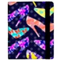 Colorful High Heels Pattern Samsung Galaxy Tab 8.9  P7300 Flip Case View2