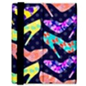 Colorful High Heels Pattern Samsung Galaxy Tab 8.9  P7300 Flip Case View3