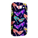 Colorful High Heels Pattern Samsung Galaxy Grand DUOS I9082 Hardshell Case View2