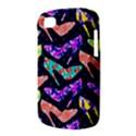 Colorful High Heels Pattern BlackBerry Q10 View3