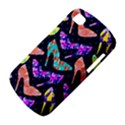 Colorful High Heels Pattern BlackBerry Q10 View4
