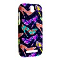 Colorful High Heels Pattern HTC One SV Hardshell Case View2