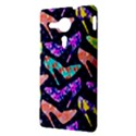 Colorful High Heels Pattern Sony Xperia SP View3