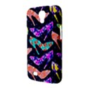 Colorful High Heels Pattern Samsung Galaxy Mega 6.3  I9200 Hardshell Case View3