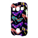 Colorful High Heels Pattern Samsung Galaxy S7710 Xcover 2 Hardshell Case View3