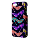 Colorful High Heels Pattern iPhone 5S/ SE Premium Hardshell Case View3