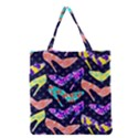 Colorful High Heels Pattern Grocery Tote Bag View1