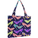 Colorful High Heels Pattern Mini Tote Bag View2