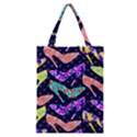 Colorful High Heels Pattern Classic Tote Bag View1