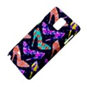 Colorful High Heels Pattern Samsung Galaxy Note 4 Hardshell Case View4