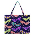Colorful High Heels Pattern Medium Tote Bag View1