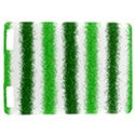 Metallic Green Glitter Stripes Kindle Touch 3G View1