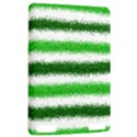 Metallic Green Glitter Stripes Kindle Touch 3G View2