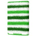 Metallic Green Glitter Stripes Kindle Touch 3G View3