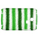 Metallic Green Glitter Stripes Samsung S3350 Hardshell Case View1
