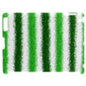 Metallic Green Glitter Stripes Apple iPad 2 Hardshell Case (Compatible with Smart Cover) View1