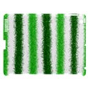 Metallic Green Glitter Stripes Apple iPad 3/4 Hardshell Case (Compatible with Smart Cover) View1