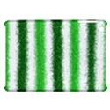 Metallic Green Glitter Stripes Apple iPad Mini Hardshell Case View1