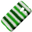 Metallic Green Glitter Stripes Samsung Galaxy Ace Plus S7500 Hardshell Case View4