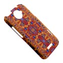 Oriental Watercolor Ornaments Kaleidoscope Mosaic HTC One X Hardshell Case  View5