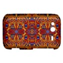 Oriental Watercolor Ornaments Kaleidoscope Mosaic HTC Wildfire S A510e Hardshell Case View1