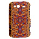 Oriental Watercolor Ornaments Kaleidoscope Mosaic HTC Wildfire S A510e Hardshell Case View2